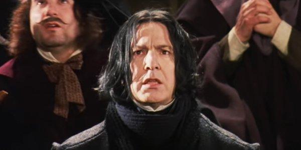 Cara Severus Snape memandang Quirinus Quirrell sebagai bekas luka Harry Potter