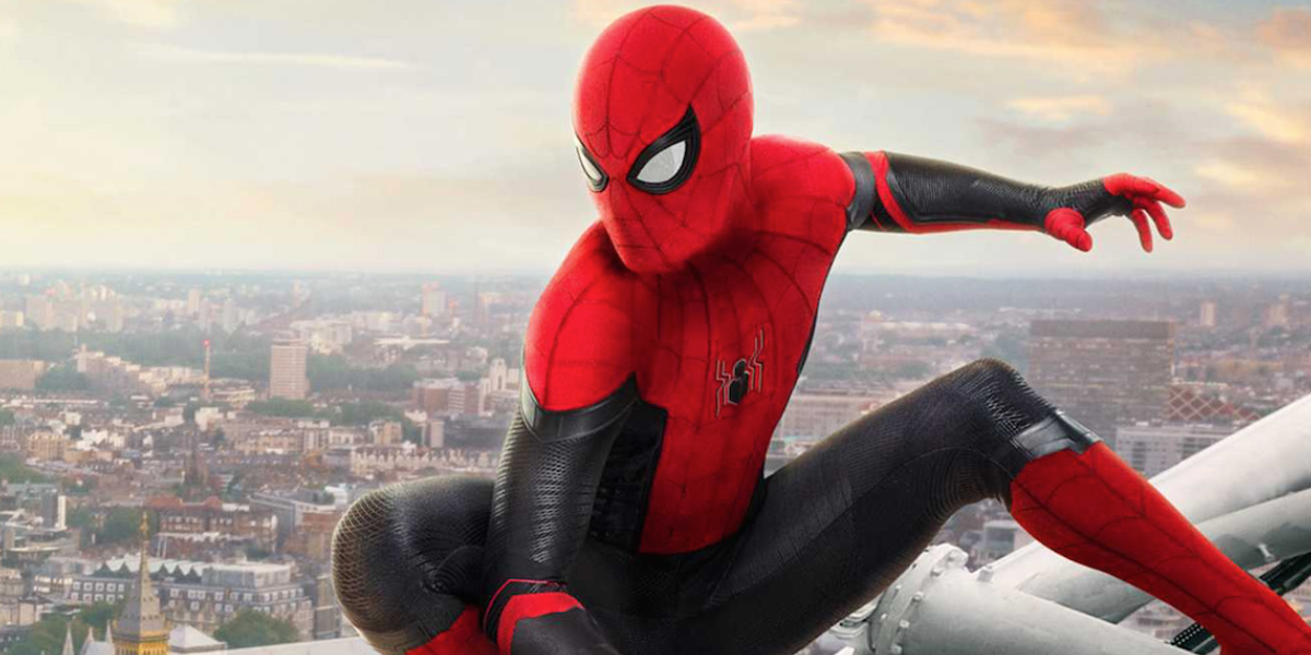Spider-Man: Far From Home's poster