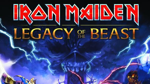 Iron Maiden's Legacy Of The Beast cover