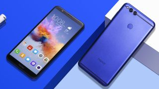 Honor 7X back and front