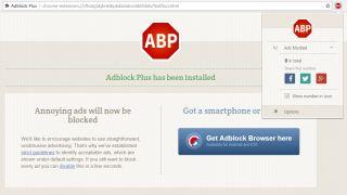 Adblock Plus screen grab