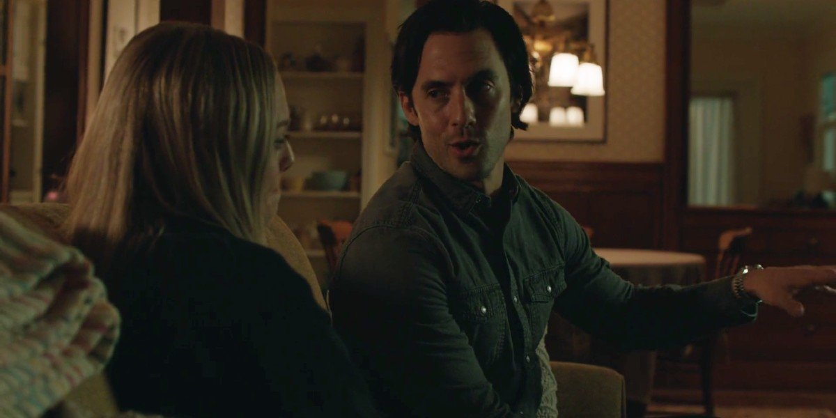 Amanda Seyfried and Milo Ventimiglia in The Art of Racing in the Rain
