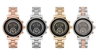 The Michael Kors Access Sofie 2.0 in four colors