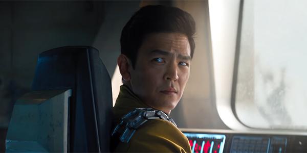 John Cho as Sulu in Star Trek: Beyond