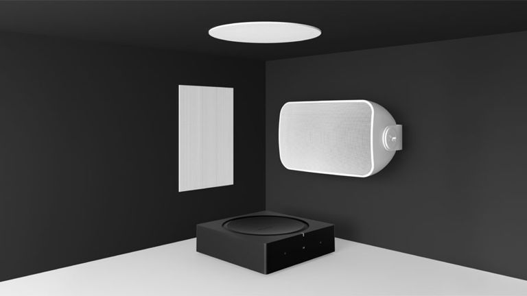 Sonos' new outdoor and in-wall speakers