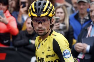 Primoz Roglic (Jumbo Visma) ahead of stage 16 at the Giro d'Italia