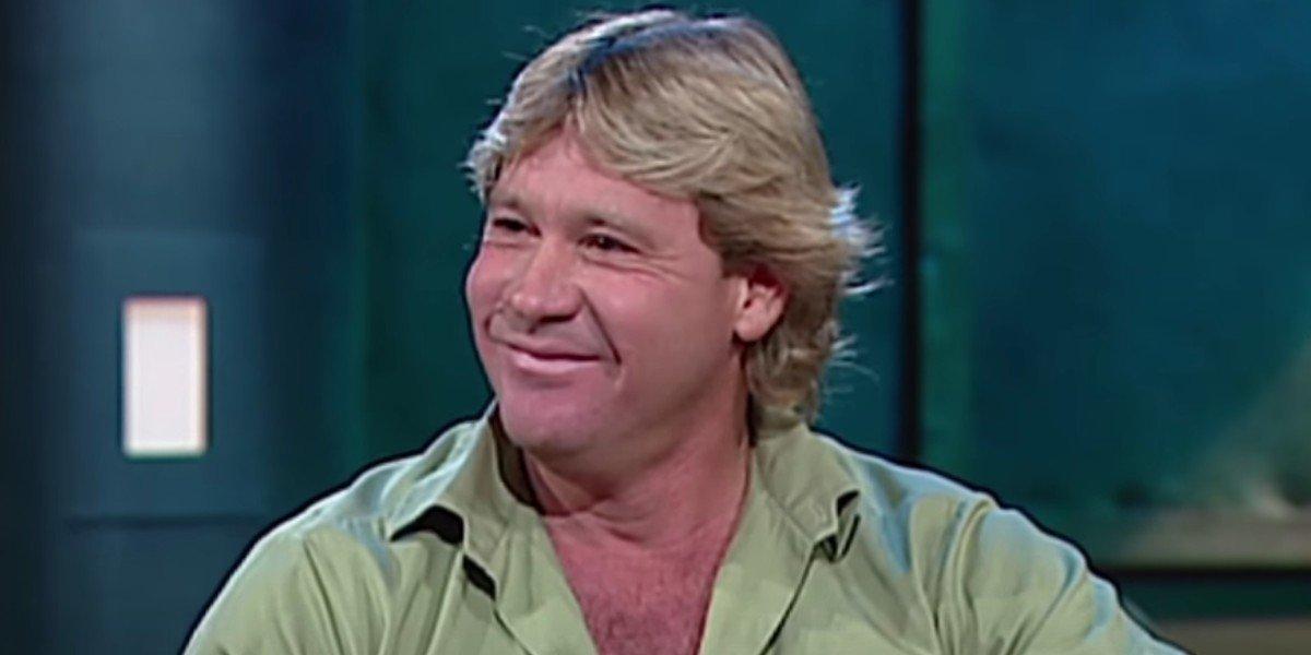 Steve Irwin on ROVE (2002)
