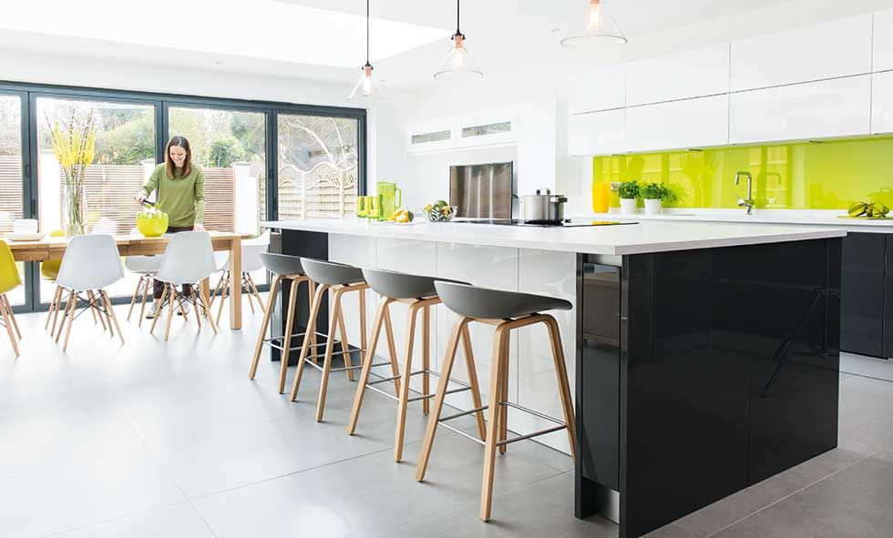 14 contemporary kitchen ideas real homes for Real kitchen designs