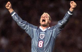 Paul Gascoigne Gazza England Euro 96
