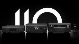 Denon marks 110 years with new stereo and AV amps, SACD player and cartridge