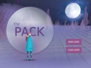 Screenshot of The Pack homepage
