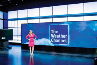 Video Wall Transforms The Weather Channel Studio