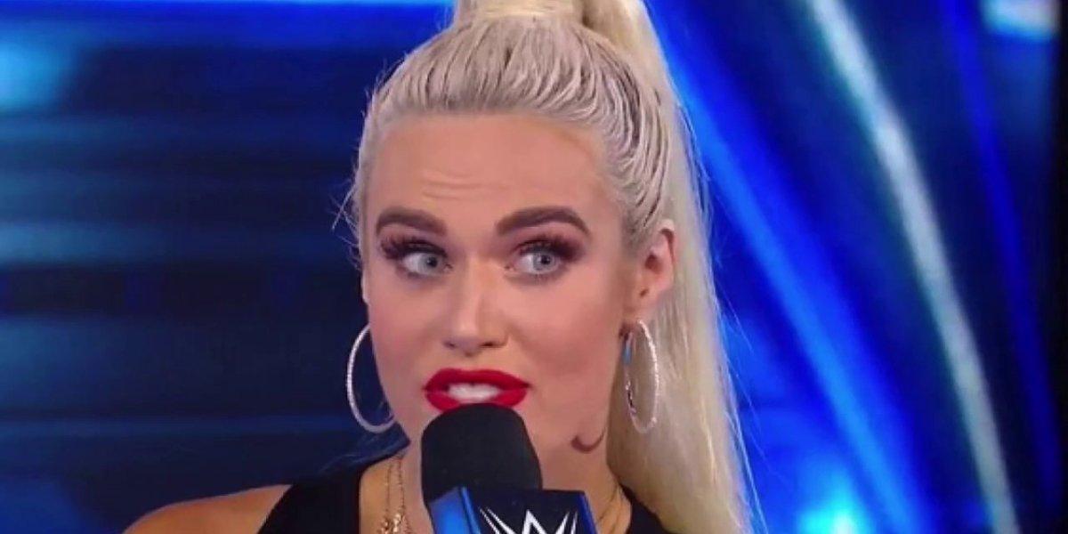 Lana on SmackDown