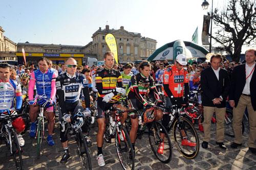 Minute's silence, Paris-Roubaix 2010