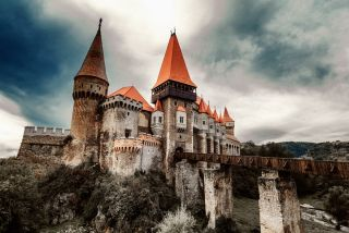 The bloodthirsty Vlad the Impaler may have been imprisoned in this Transylvanian castle.