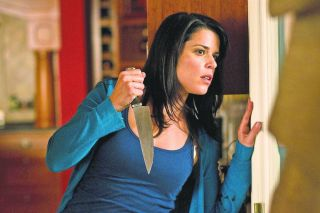 Neve Campbell in Scream.