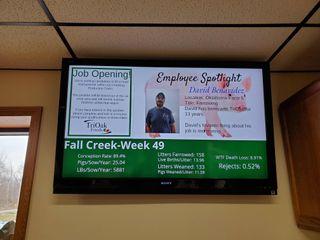 Carousel Digital Signage Strengthens Corporate Communications for TriOak Foods