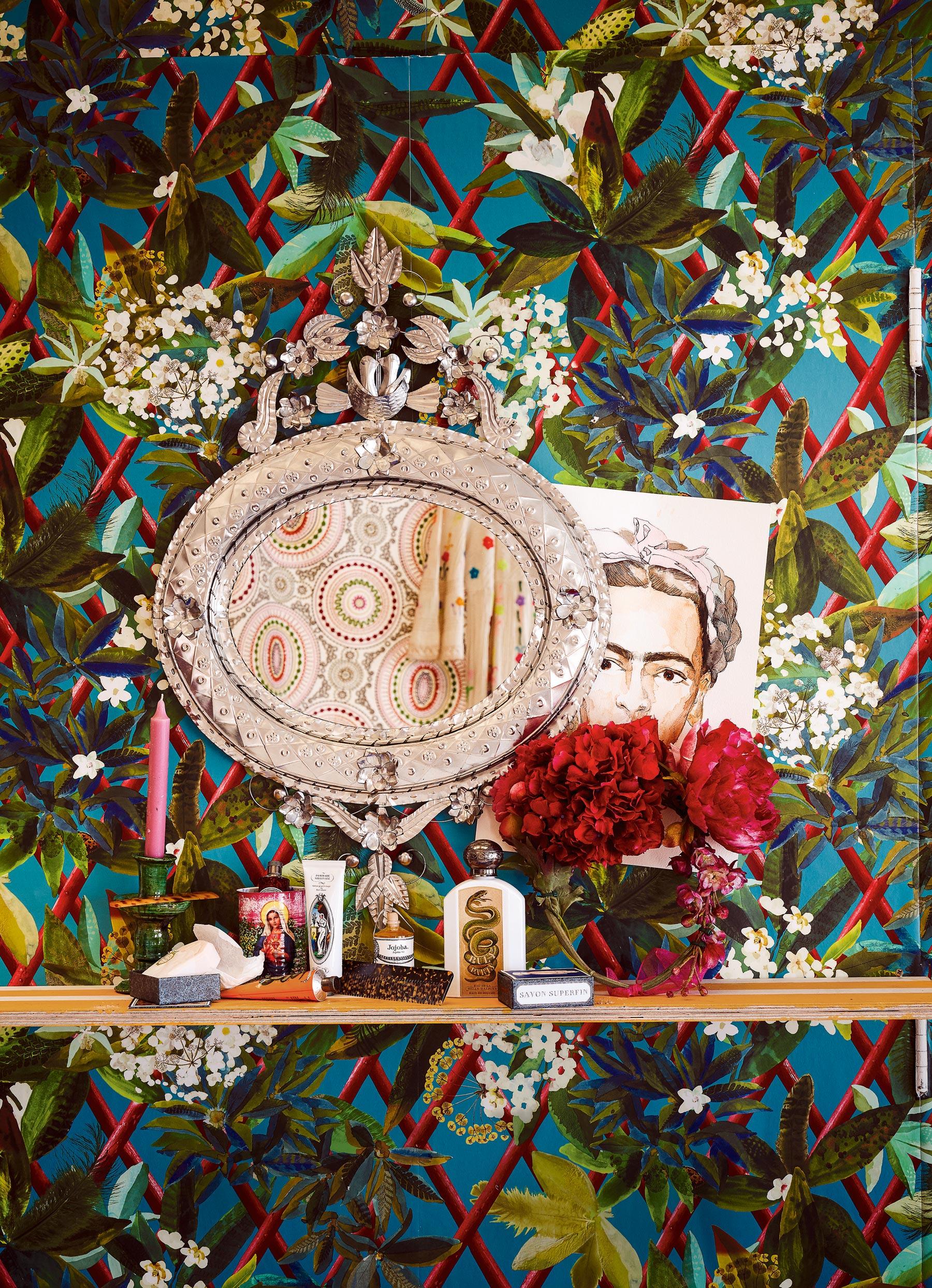 Interior Trend Frida Kahlo Style Viva La Frida Mexican