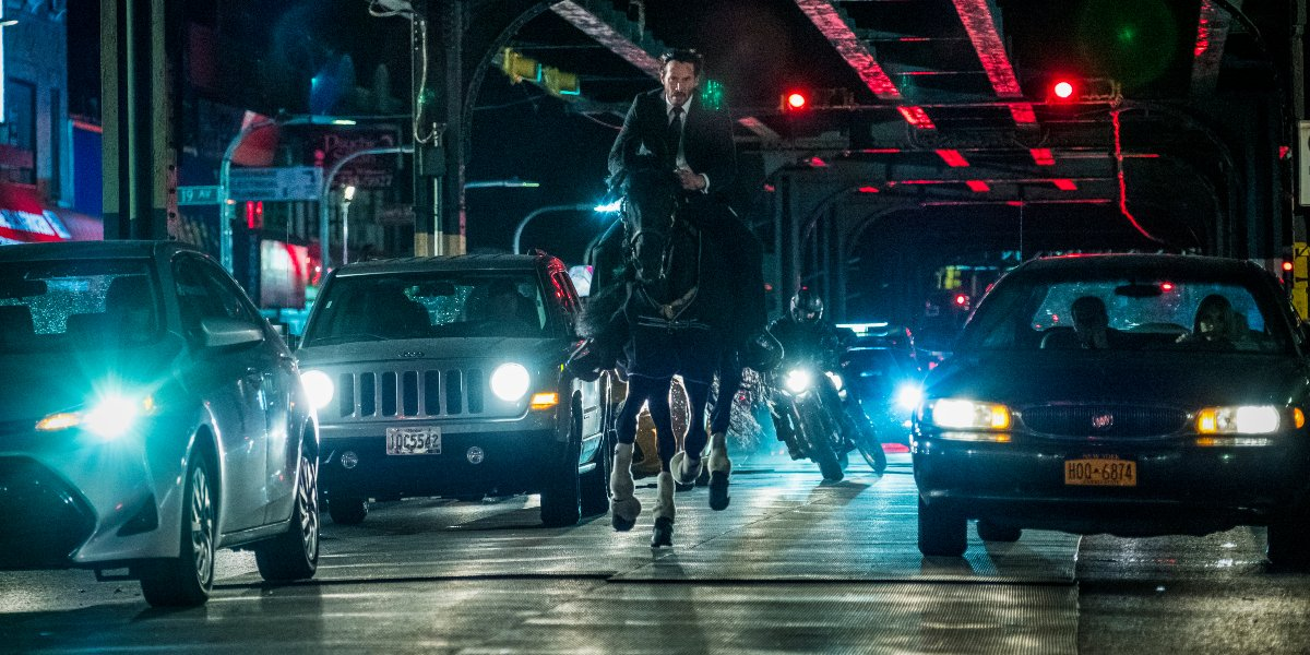 Keanu Reeves in John Wick: Chapter 3 – Parabellum