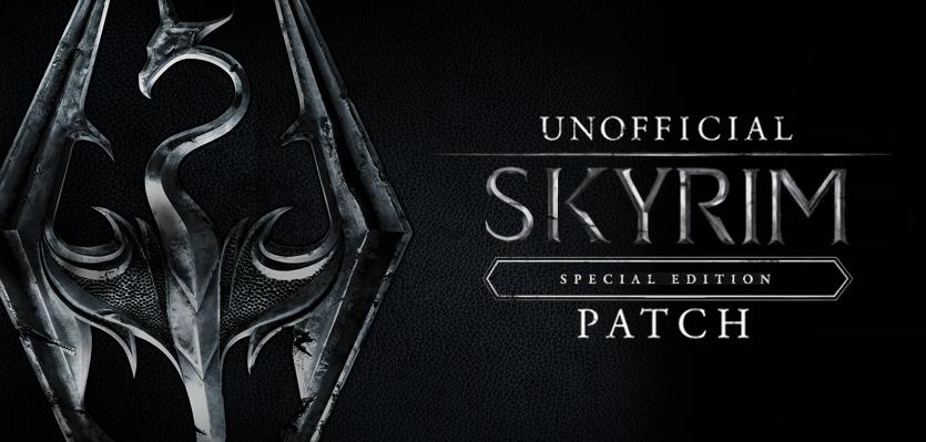 Skyrim Special Edition mod - Unofficial Skyrim Patch
