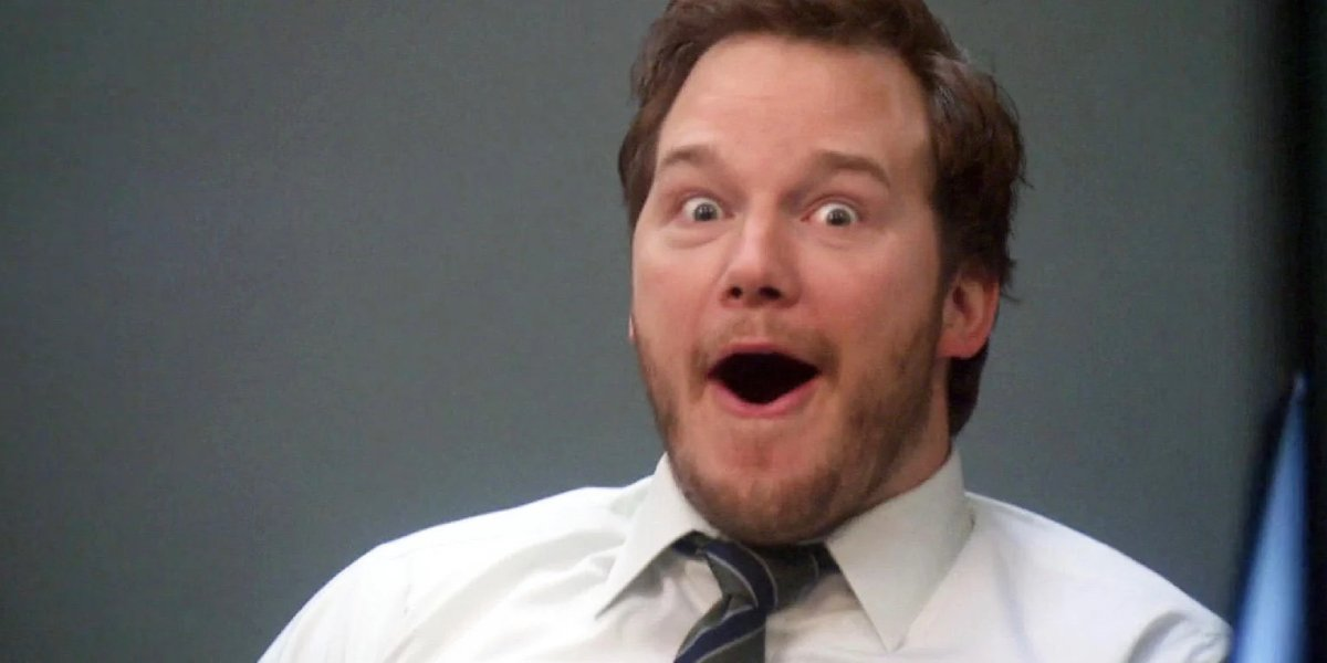 Chris Pratt as Andy Dwyer in Parks and Recreation
