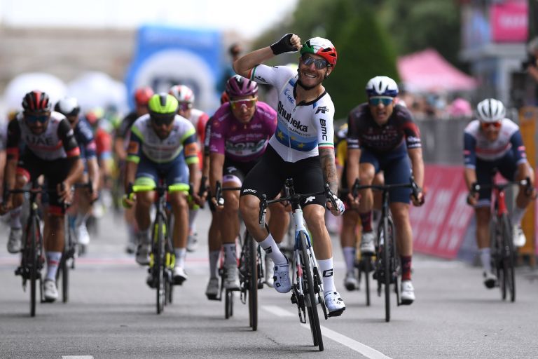 Giacomo Nizzolo wins stage 13 of the Giro d'Italia 2021