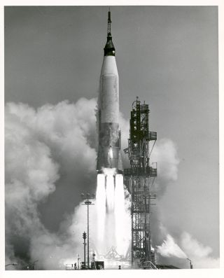 space history, Mercury spacecraft, test launch