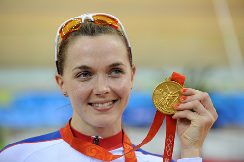 Victoria Pendleton Olympic gold medal 2008