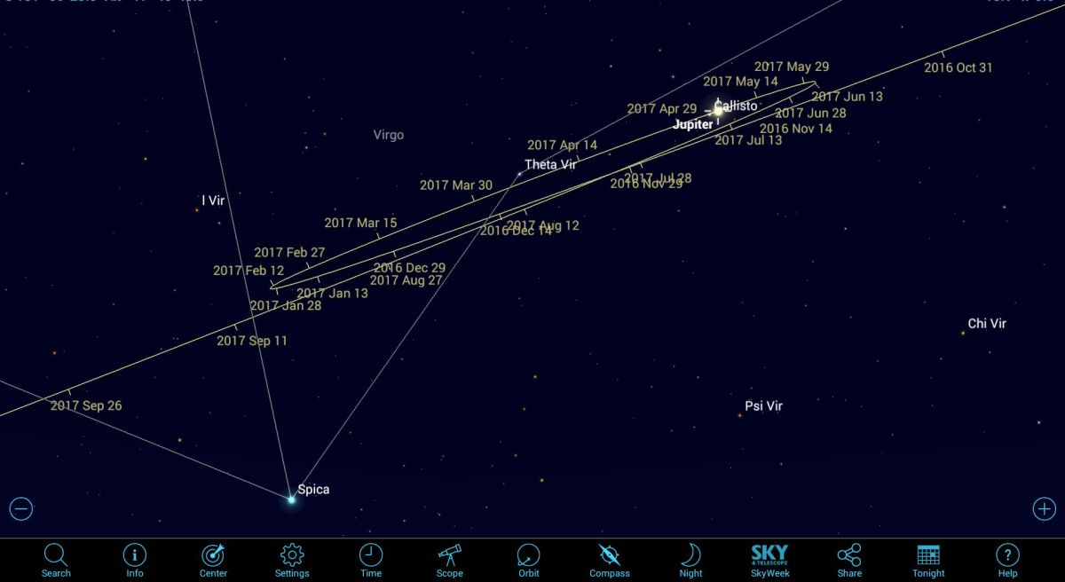 How to See Jupiter by Day and its Moons by Night using Mobile