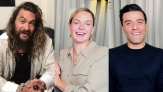 Jason Momoa, Rebecca Ferguson and Oscar Isaac in an interview with CinemaBlend