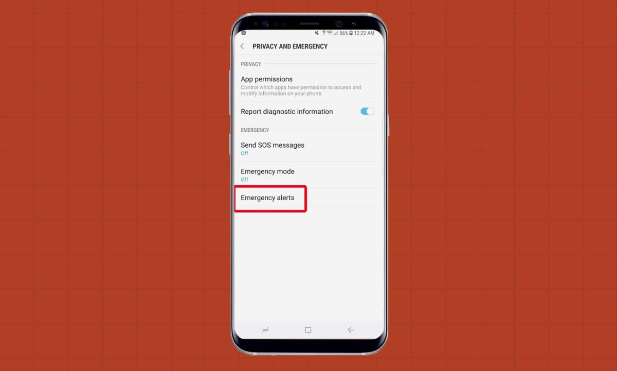 How to Turn Off Emergency Alerts on the Galaxy S8 - Samsung Galaxy