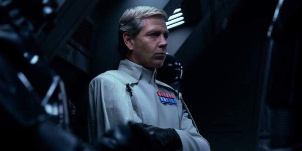 Ben Mendelsohn as Orson Krennic in Rogue One: A Star Wars Story