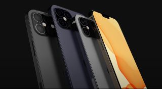 iPhone 12 Pro Max front smaller notch