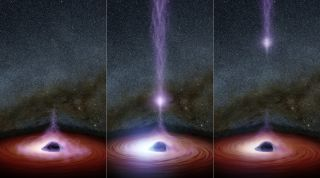 Shifting Coronas Around Black Holes