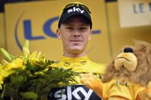 Chris Froome (Sky) remains firmly in the yellow jersey with one day remaining in the Alps