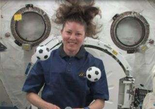 World Cup Mania Reaches Astronauts in Space