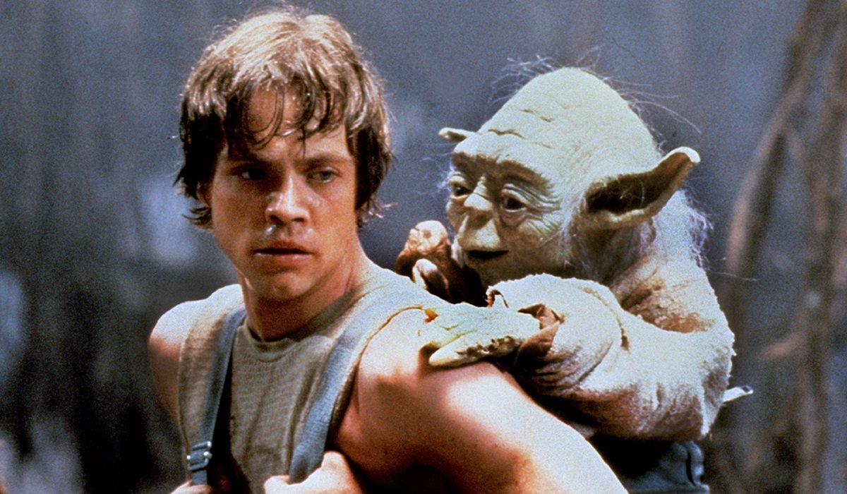 Luke Skywalker Yoda Star Wars: The Empire Strikes Back