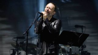 Radiohead's Thom Yorke onstage in 2016