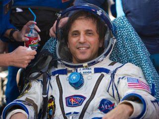 Joe Acaba after landing