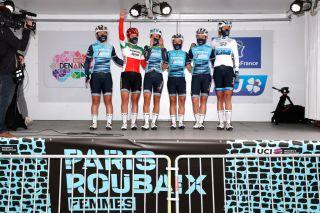 Lizzie Deignan and Trek-Segafredo at Paris-Roubaix Femmes