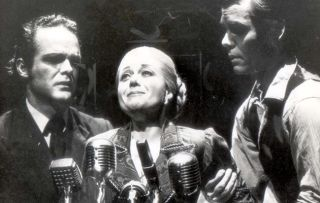 Evita: The Making of a Superstar - shows Elaine Paige in 1992 as Evita in the musical