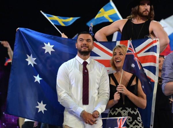 Australia's Guy Sebastian