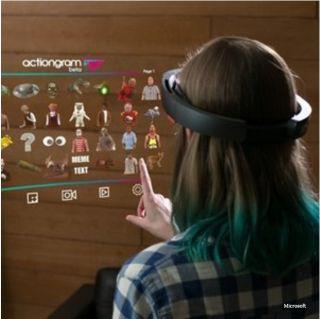 Microsoft Augmented reality