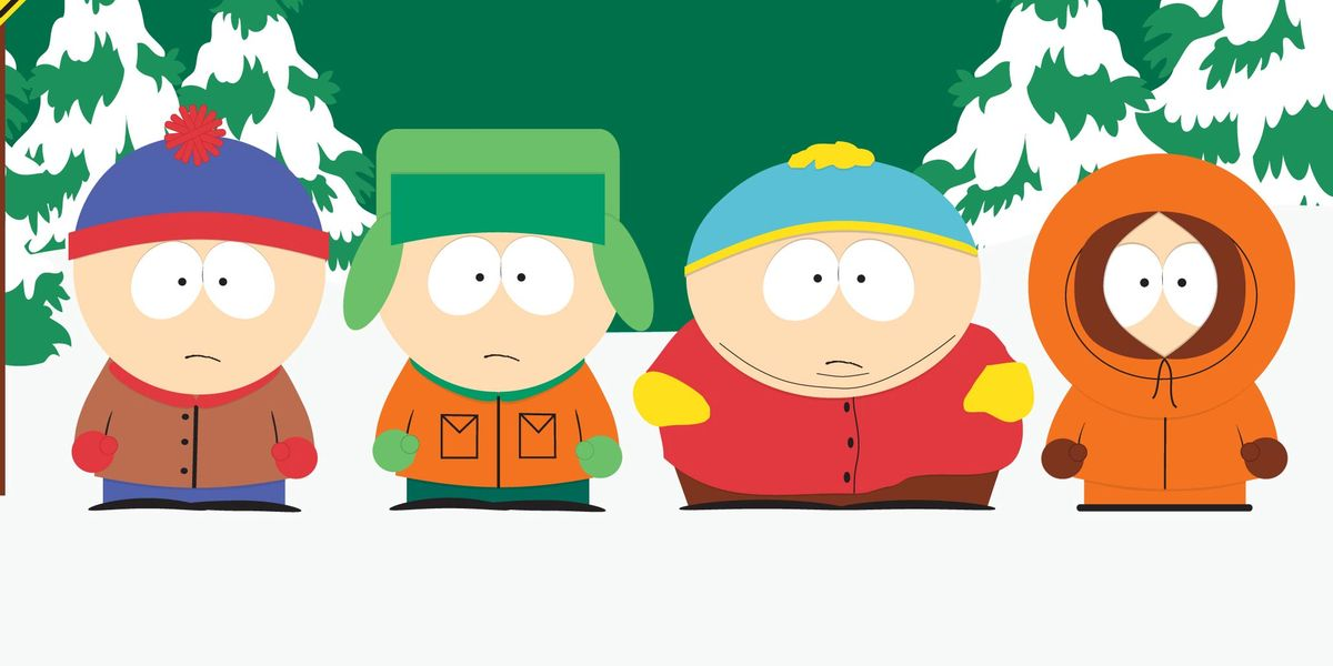 The four main characters of South Park.
