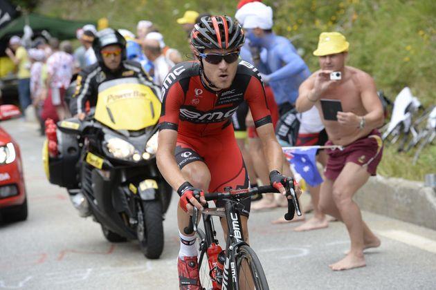 Tejay Van Garderen puts in a gruelling solo effort, Tour de France 2013, stage 18