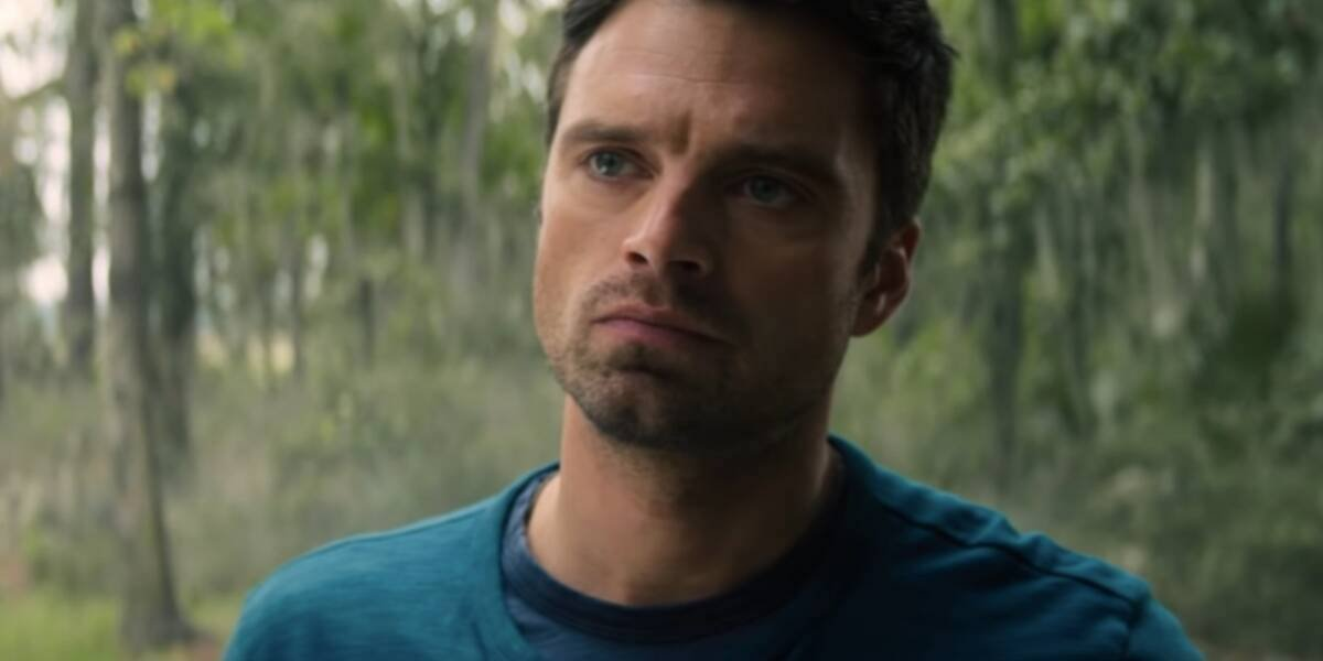 Sebastian Stan as Bucky in the Falcon and the Winter Soldier