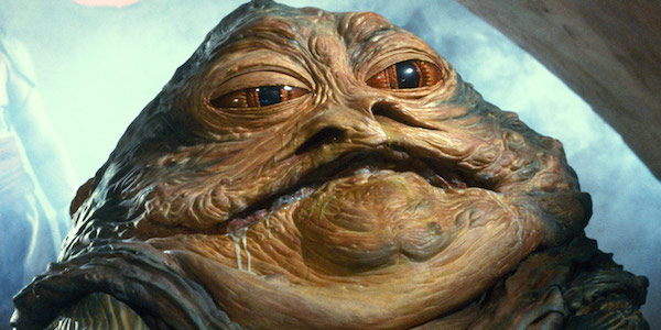 Jabba the Hutt in Star Wars: Return of the Jedi