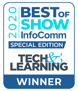 Tech & Learning's Best of Show at Infocomm 2020 logo