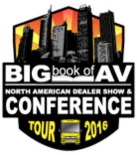 2016 Big Book of AV Tour and Vendor Summit Conference Come to Toronoto