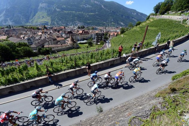 Scenery, Tour de Suisse 2012, stage eight